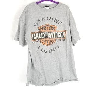 Harley Davidson Gray Faded Look Kids Palm Bay Tee